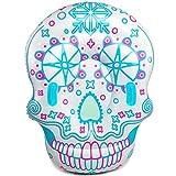 GOLDGOD Cráneo Mueca Zona Infantil, Piscina Inflable del Flotador Ride-On para los Adultos de los niños para el jardín, Patio Trasero, al Aire Libre, Esparcimiento, 63'x39.3