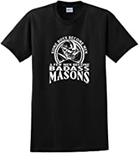 ThisWear Created Equal, A Few Men Become Masons T-Shirt