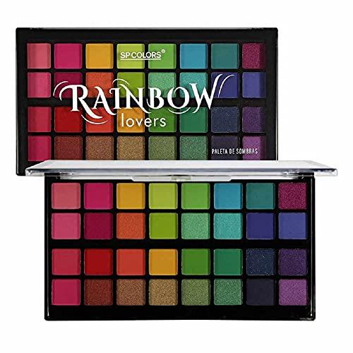 Paleta de Sombras SP Colors Rainbow Lovers