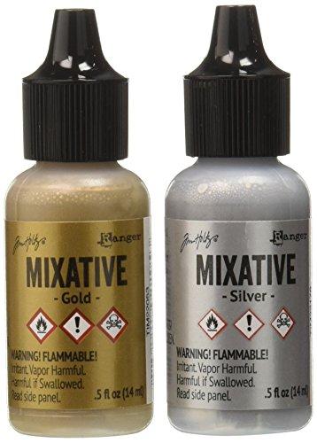 Alcohol Ink Metallic Mixatives
