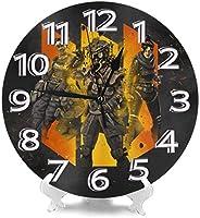アペックスレジェンド 柱時計,北欧 おしゃれ 円形掛け時計, 連続秒針掛け時計 静音 部屋装飾壁時計, インテリア 置き時計, 時計 壁掛け寝室 店舗 家 部屋装飾 簡単 贈り物 アラビア数字壁掛け時計, シンプル おしゃれ丸い 壁時計 新しい