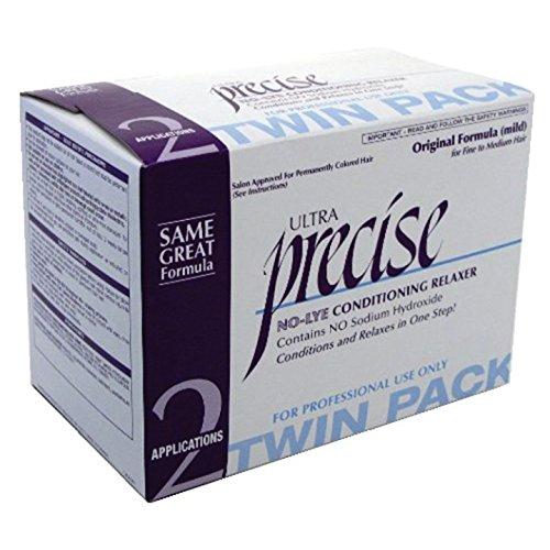 Softsheen Carson Precise No-Lye Original Relaxer Twin Pack