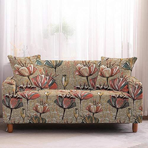 Alayth Copridivano 1 – 4 posti con motivo floreale, copridivano, asciugamani, mobili e poltrone, 2 posti, colore 2