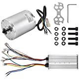 BestEquip 3000W 72V Brushless Motor 42A 4900RPM High Speed Electric Scooter Motor with Speed Controller for Mini Bike Quad and Go-Kart