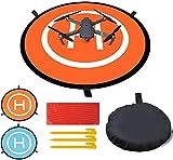 Drone Landing Pad,Almohadilla de Aterrizaje para UAV Plegables Portátiles Impermeable Pads de Aterrizaje para Helicópteros RC Drones 3DR Solo Drone DJI Mavic Pro Antel Robotic X-star 55CM