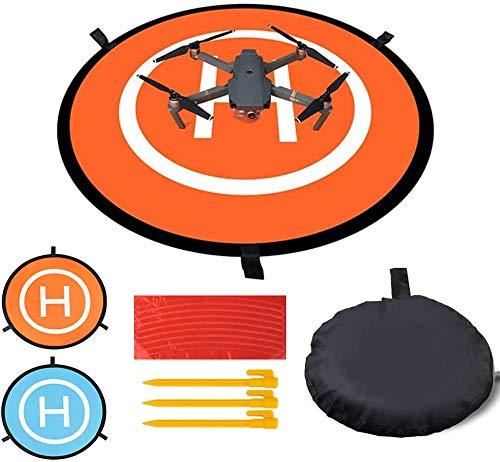 Jieddey Landeplatz,Drone Landing Pad UAV Tragbare Faltbare wasserdichte Startrampe für RC Drones Hubschrauber 3DR Solo Drohne DJI Mavic Pro DJI Inspire Antel Robotic X-Star DJI Mini 2 zubehör