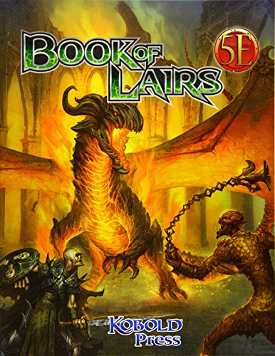 Book of Lairs for 5th Edition: Volume 1