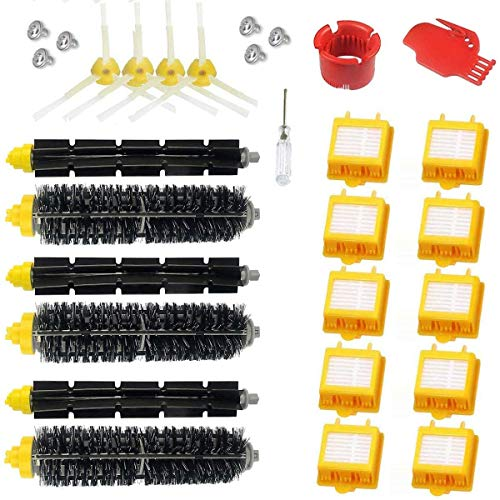 Supon Robot Repuestos Accesorios para Robot 700 790 782 780 776 774 772 770 760 Serie 700 Juego de Repuesto de Filtro de cepillos (7-519)