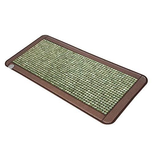 Materasso da massaggio Materasso di Giada Tourmaline Meteorite Riscaldamento Pietra Far Infrared Terapia Magnetica Pietra Pad, Termostato Manuale Temperatura Automatica Costante
