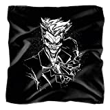 Batman Joker's Splatter Smile Bandana (21 in x 21 in)