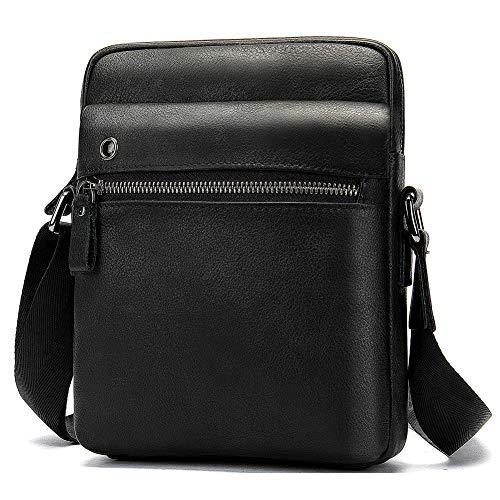 Messenger Bag Casual Crossbody Business Handtasche Taschen Leder Herren Laptop Tasche Aktentasche Handtasche Messenger
