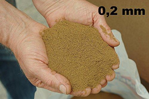 MANGIME per Pesci AFFONDANTE di Varie Dimensioni per L'ALLEVAMENTO E per Uso Sportivo Come Esca per LA Pesca (1, 2 mm)