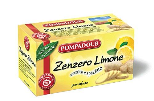 Pompadour Zenzero Limone, 20 Filtri, 36g