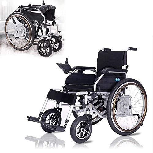 DLY Ältere Menschen mit Behinderungen Falten von Älteren Menschen mit Behinderungen Mobilität im Innenbereich im Freien Mobiler Elektrischer Rollstuhl Polymer-Ionen-Batterie