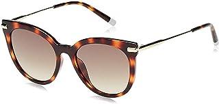 نظارة شمسية كات اي للنساء من كالفن كلاين - عدسات بلون بني فاتح CK3206S-214