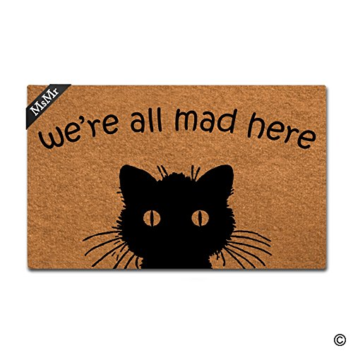 MsMr Doormat Entrance Mat Funny Doormat Home Office...