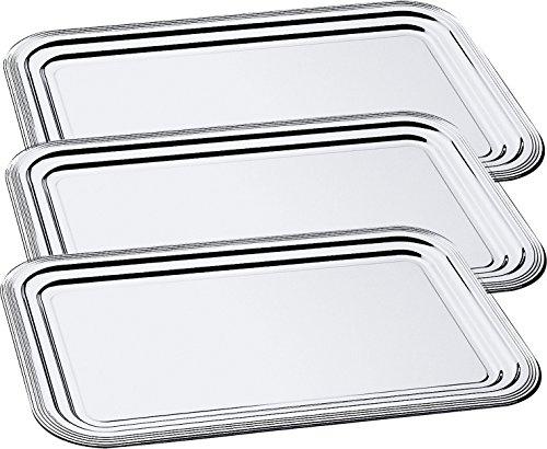 APS Partyplatte 3er Set CLASSIC 53 x 32,5 cm, Metall 395