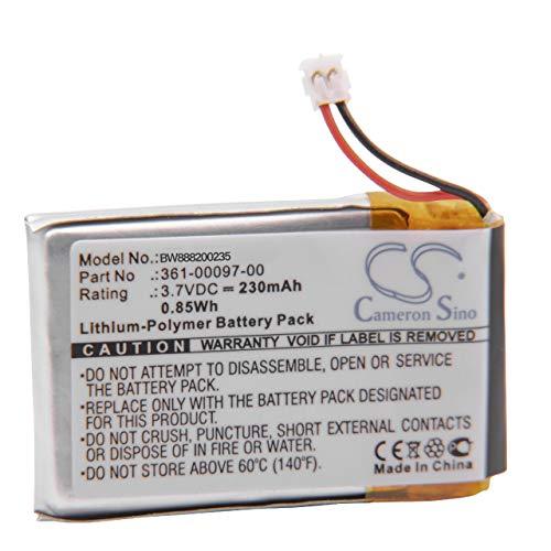 vhbw Akku kompatibel mit Garmin Forerunner 935 Smartwatch Uhr Fitnessarmband (230mAh, 3,7V, Li-Polymer)