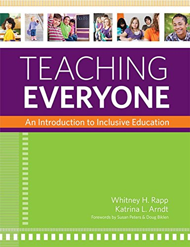 Compare Textbook Prices for Teaching Everyone: An Introduction to Inclusive Education 1 Edition ISBN 9781598572124 by Rapp Ph.D, Dr. Whitney H.,Arndt Ph.D., Dr. Katrina L.