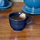 Homer Laughlin 452105 Fiesta Cobalt Blue 7.75 oz. China Cup - 12/Case