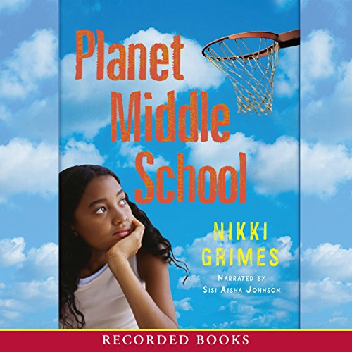 Planet Middle School audiobook cover art