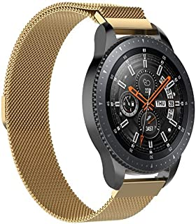 Milanese Loop Strap Wrist Band For Smart Watch Samsung Galaxy Watch 46mm / Huawei GT2 / Gear S3 Frontier and Classic / Hon...