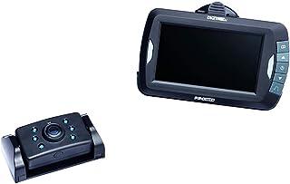 Pro User DRC4310 16249 20123 Digitales Funk Rückfahrkamerasystem für 12V und 24V Systeme mit 4.3 Zoll Monitor und Nachtsichtkamera ohne Signalstörungen