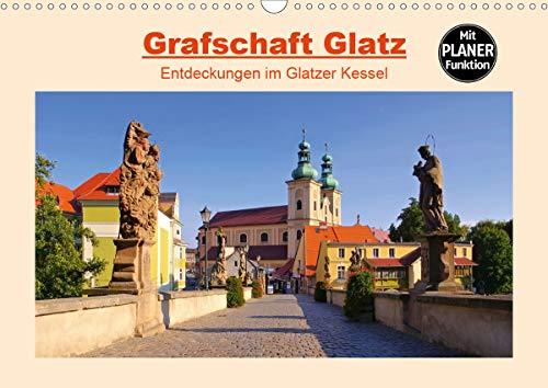 Grafschaft Glatz - Entdeckungen im Glatzer Kessel (Wandkalender 2021 DIN A3 quer)