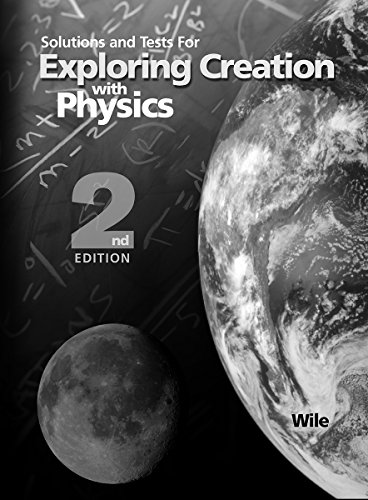 Price comparison product image Solutions and Tests for Exploring Creation with Physics 2nd Edition