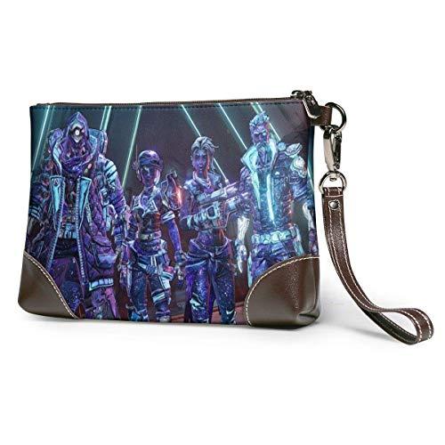 XCNGG Cooler Avatar The Last Airbender Modische Lederkupplungen, Handtaschen, Aktentaschen, weiche Lederarmbandkupplungen mit Reißverschluss