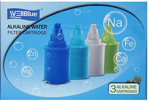 WellBlue Alkaline Blue Water Replacement Filters