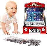 zhangcheng Spielautomaten-Unterhaltungsspiele Familienmünzspielzeug Kindergeschenke Münzspiele