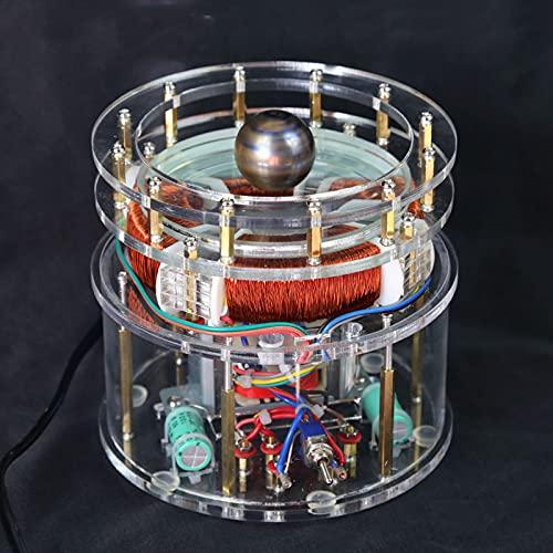 Modelo de Motor de inducción Tesla Columbus Egg, enseñanza de rotación magnética Tesla Coil Ciencia educación Juguete tecnología Creativa Productos de decoración