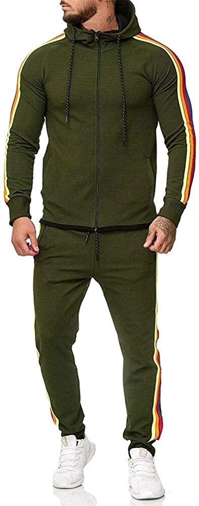 Baltimore Mall Men's Side Stripe Zipper Max 59% OFF Jacket Tracksuit S Drawstring Waistband