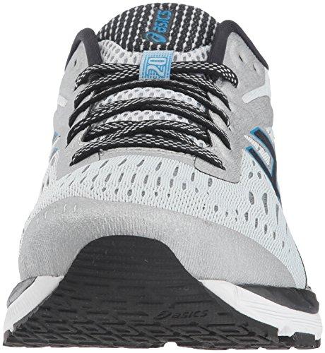 ASICS Men's Gel-Cumulus 20 Running Shoes, 11.5M, Glacier Grey/Black 6