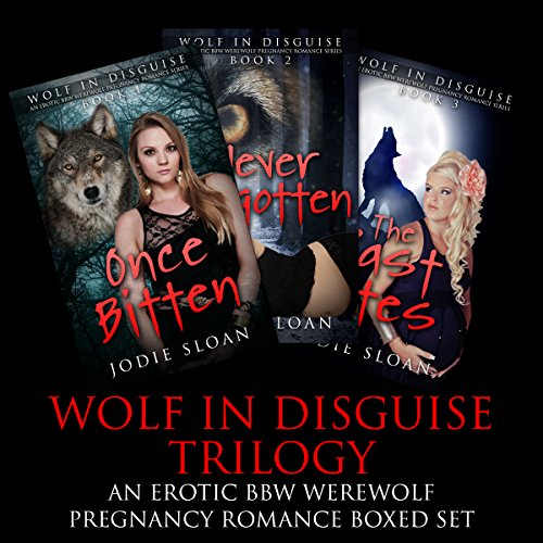 Wolf in Disguise Trilogy audiobook cover art