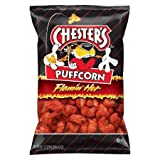 Chester's Puffcorn Flamin' Hot Puffed Corn Snacks 4.5 oz, pack of 1