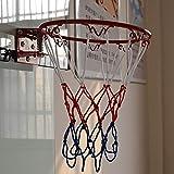 Nostalgie Estándar Transportador Transparente Baloncesto Hoop Set Puerta Montado Montado Colgando Baloncesto Hoop Home Baloncesto Entrenamiento de Baloncesto Accesorios Reemplazo (Color : Set)