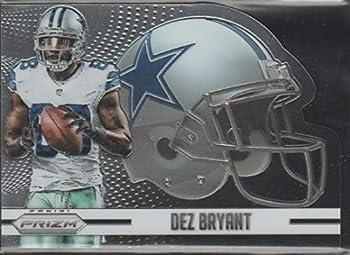 2015 Panini Prizm Dez Bryant Cowboys DC Helmet Football Card #H7