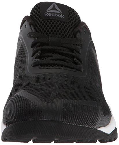 Reebok Men's ROS Workout TR 2.0 Sneaker, Black/Alloy/White, 11 M US