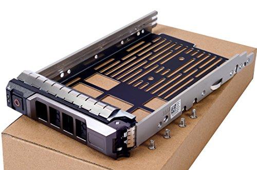 """Bandeja de repuesto para disco duro SAS SATA de 3,5"""" para Dell PowerEdge T330 T430 T630 R230 R330 R430 R530 R630 R730 R730XD R930 Serie, número de pieza compatible KG1CH 0KG1CH"""