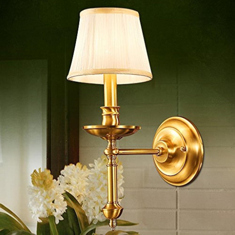 Kupfer Wandleuchte Nachttischlampe Schlafzimmer Lampe Gang Lichter Flur Leuchten E14