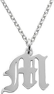 Best m pendant necklace Reviews