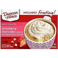 Duncan Hines Mug Cakes Strawberry Shortcake Flavored Mix