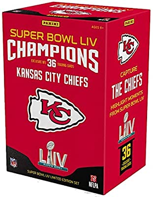 2019 Panini Instant Kansas City Chiefs Super Bowl LIV Champions Complete Trading Card Set (36 Cards)