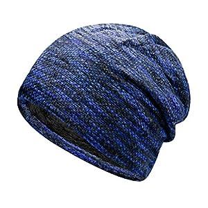 キャップ 帽子 Yindaity ニット帽 グラデーション キレイめ ニットキャップ 小顔効果 ビーニー帽 おしゃれ 人気 ハット 旅行 UVカット アウトドア シンプル 男女兼用 レディース メンズ
