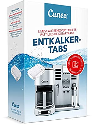 Descaler Tablets for Coffee Machine and Kettles-Descaling - 45x 16gb Each Tablet Compatible with Tassimo Bosch Senseo Nespresso Dolce Gusto All Purpose Limescale Remover Descale Decalcifier