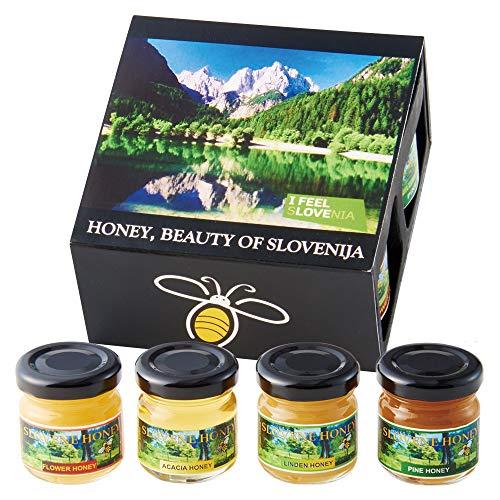 スロベニア はちみつ 4 種セット【スロベニア おみやげ(お土産) 輸入食品 蜂蜜】