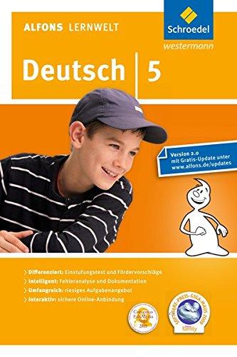 Alfons Lernwelt Deutsch 5 Einzelplatzlizenz