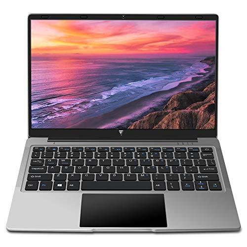 Portatile Laptop 14,1 Pollici 6GB RAM Windows 10 MEBERRY Notebook PC, 64GB SSD | 128GB Espandibili | HDMI | Bluetooth 4.0 | Aux 3.5mm | USB 3.0   2.0, Corpo in Metallo Grigio(Tastiera con layout US)